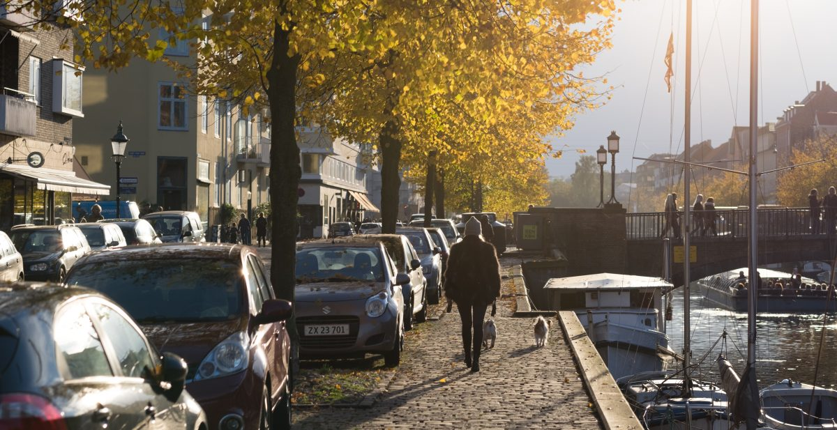 Autumn in Christianshavn, Copenhagen, with the XF 56mm f1.2