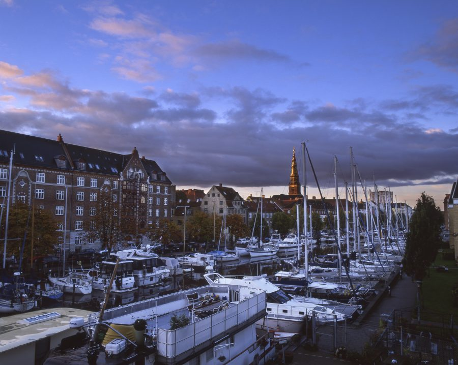 Christianshavn in Copenhagen, taken with the Pentax 6x7 +55mm f4 with Fujifilm Velvia 50 slidefilm