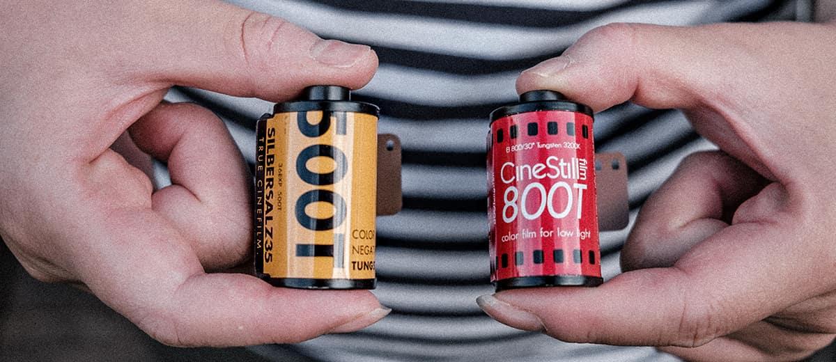 Silbersaltz (Kodak Vision 500T) vs Cinestill 800